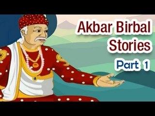 Akbar Birbal English Animated Story - Part 1/5