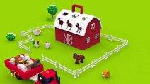Apprendre les animaux de la ferme et leurs cris. Dessins animés pour bébés en français. Learn French  Fun Fan FUN Videos
