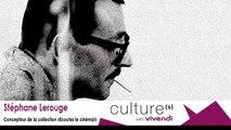 """Stéphane Lerouge, Concepteur de la collection """"Ecoutez le cinéma!"""" - Métiers de la création"""