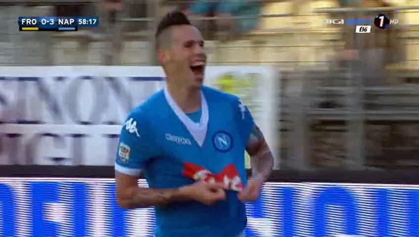 Marek Hamšík Goal - Frosinone 0-3 Napoli - 10-01-2016