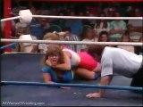 Madusa Miceli vs Nasty Kat Leroux -  LPWA Rampage Intro - Ladies Pro Wrestling    Female Wrestling