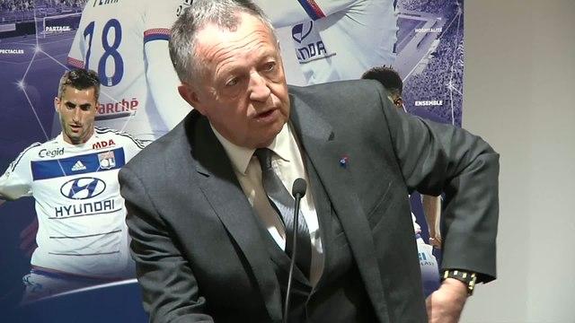Foot - L1 - Lyon : Aulas «Une fierté inimaginable»