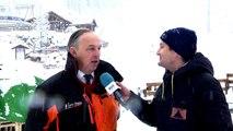D!CI TV : Le maire des Orres heureux des dernières chutes de neige