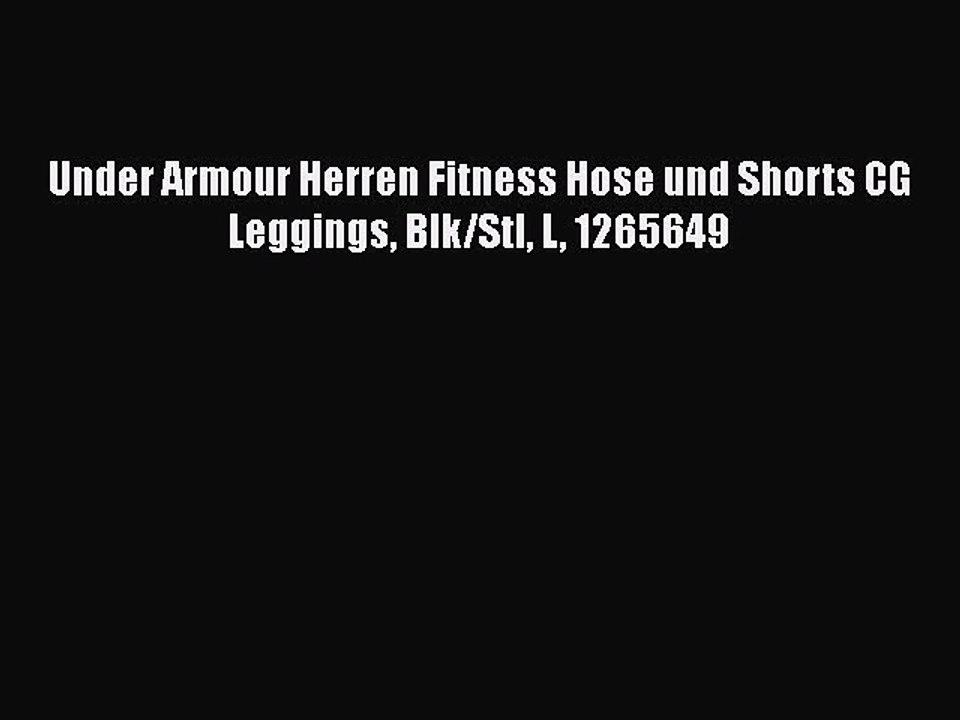 Under Armour Herren Ua Hg Shortsy Oberteil