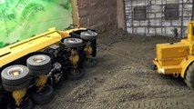 RC TRUCK ACCIDENT, RC TIPPER ACCIDENT, RC UNFALL AUF DER BAUSTELLE
