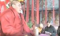 希阿荣博堪布南充弘法 -Khenpo Sherab Zangpo Rinpoche  in Nanchong