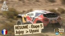 Résumé de l'étape 5 - Auto/Moto - (Jujuy / Uyuni)