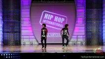 Decouvrez la performance géniale des twins lors des world hip hop danse