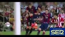 Golazo de Leo Messi al Athletic Club narrado por radios y televisiones | 30/05/2015 Amazin