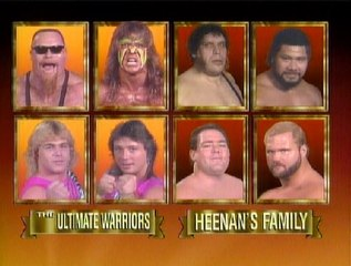 WWF Survivor Series 1989 - Team Warrior Vs. Team Andre