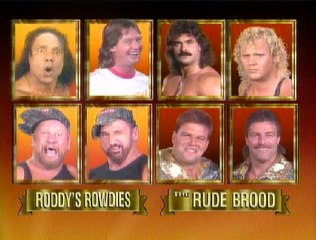 WWF Survivor Series 1989 - Team Piper Vs. Team Rude