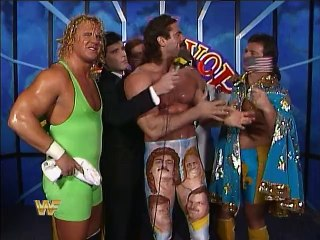 WWF Survivor Series 1989 - Team Rude Interview