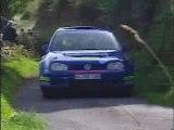 rally VW Golf VI-crash