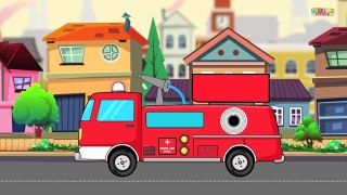 Trucks Compilation Fire Truck Monster truck Garbage Truck Tow Truck