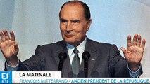 EVENEMENT - François Mitterrand répond aux questions de Jean-Pierre Elkabbach