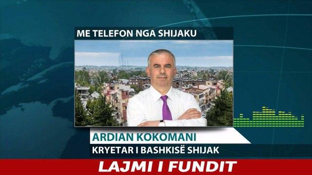 Report TV - Shijak, Ardian kokomani flet për situatën pas përmbytjeve