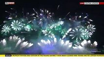 London Fireworks New Year Eve 2016