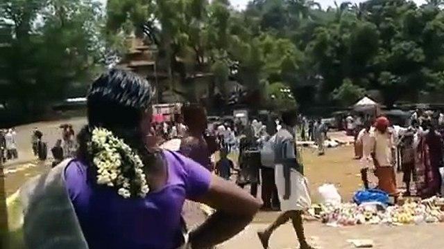KILLER ELEPHANT ATTACK IN KERALA INDIA