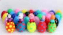 PEPPA PIG OEUFS de PÂQUES ★ Jouer Chien Oeufs Surprise Œufs Huevos Sorpresa Mickey Mouse Disney Toy Vidéos