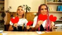 Веселый детский клип о первой любви! Что такое любовь?