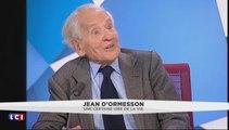 Jean d'Ormesson : Emmanuel Macron et François Mitterrand ? Deux « hommes de droite, égarés chez les Socialistes ! »
