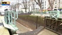 Nettoyage du Canal Saint-Martin : des tonnes de déchet mis à jour