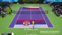 Novak Djokovic v. Tomas Berdych - ATP Doha Semi-Final 08.01.2016