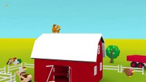 Les animaux et leurs cris pour bébé. Dessins animés pour les petits enfants en français  Fun Fan FUN Videos