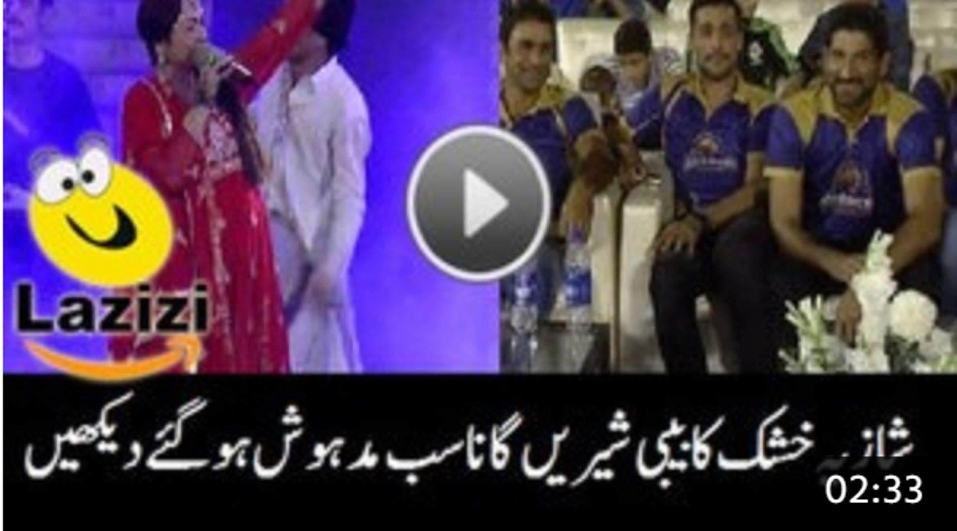 How How Shazia Khushk Sung Beautiful Song BibSung Beautiful Song Bibi Sheri in Karachi Kings Concert