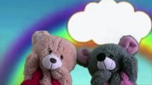 Jack Sprat Puppet Video | Teddy Bear Cartoon Rhymes | Puppet Show For Children