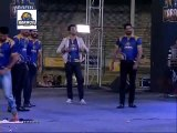 Shoaib Malik Hit 5 Sixes on 5 Balls Including Muhammad Amir in Karachi Kings Concert(1)