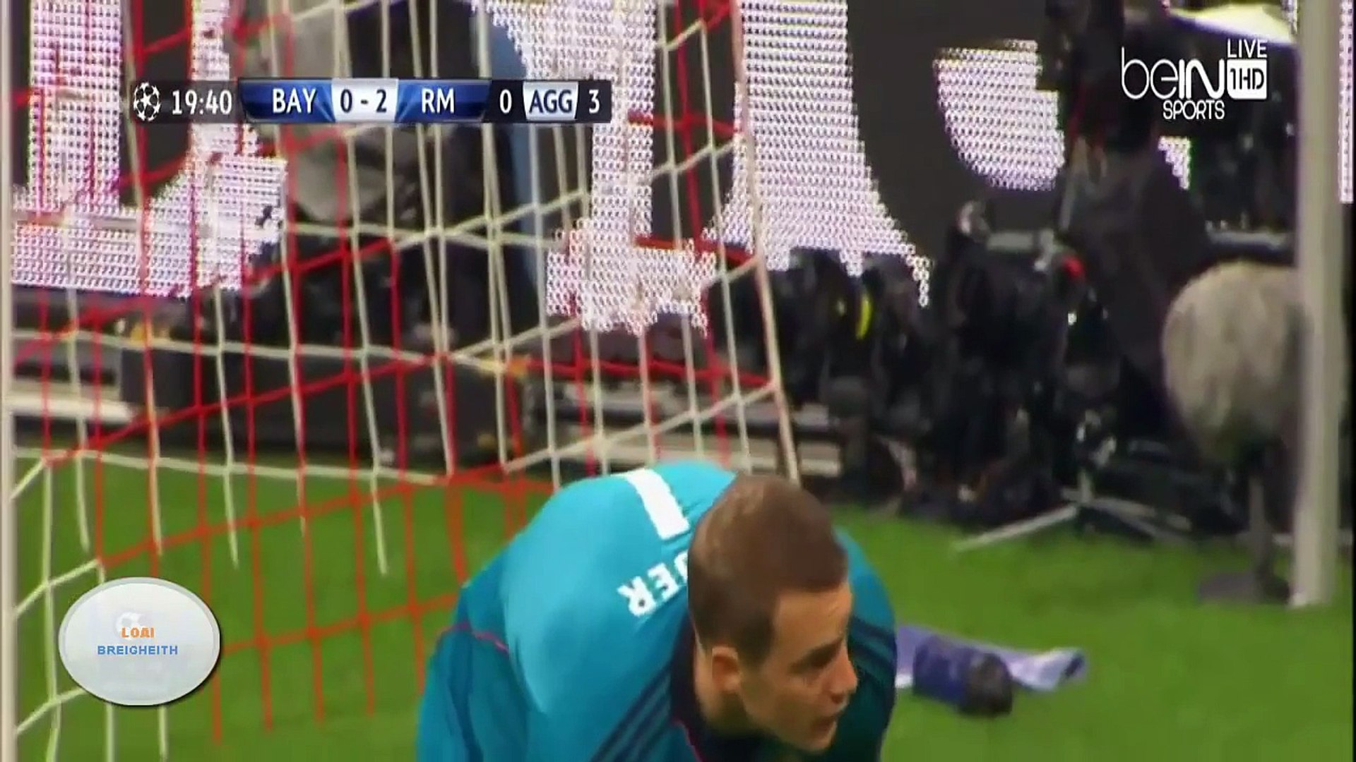 Bayern Munich 0-4 Real Madrid (29-04-2014) Champions Leauge all goals بايرن ميونخ 0-4 ري