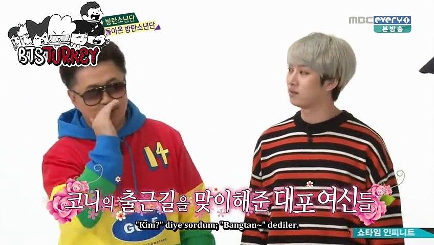 [16.12.2015] BTS - Weekly Idol (Türkçe Altyazılı)
