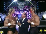 Sting & Lex Luger interview @ WCW Monday Nitro 08.01.1996