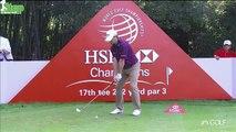 Kevin Kisners Golf Swing Super Slow Motion 2015 WGC HSBC