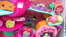 Num Noms Go Go Cafe Playset Track and Donut Wheel Unboxing with Special Editions   Blind B
