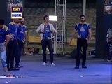 Shoaib Malik Hit 5 Sixes on 5 Balls Including Muhammad Amir in Karachi Kings Concert -