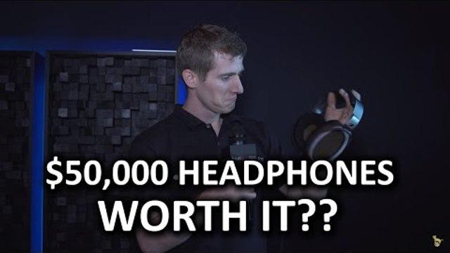 Sennheiser Orpheus $50,000 Headphones - CES 2016