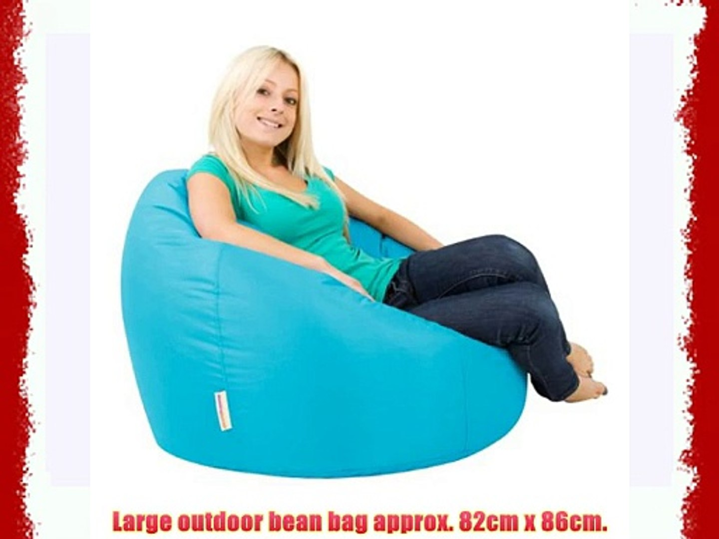 Remarkable Bean Bag Bazaar Panelled Xl Bean Bag Chair Indoor Outdoor Aqua Extra Large Bean Bags Ocoug Best Dining Table And Chair Ideas Images Ocougorg