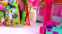 Surprise Blind Bag Lego Play Video at Barbie Doll Chelseas BirtⒽⒹay ⓅⒶⓇⓉy with Queen Elsa