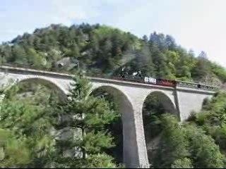 TRAIN DES PIGNES (Locomotive à vapeur E-327)