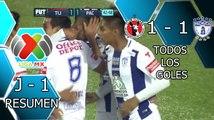 XOLOS DE TIJUANA VS PACHUCA 1-1 GOLES RESUMEN Liga MX Clausura 2016 Jornada 1 [HD]