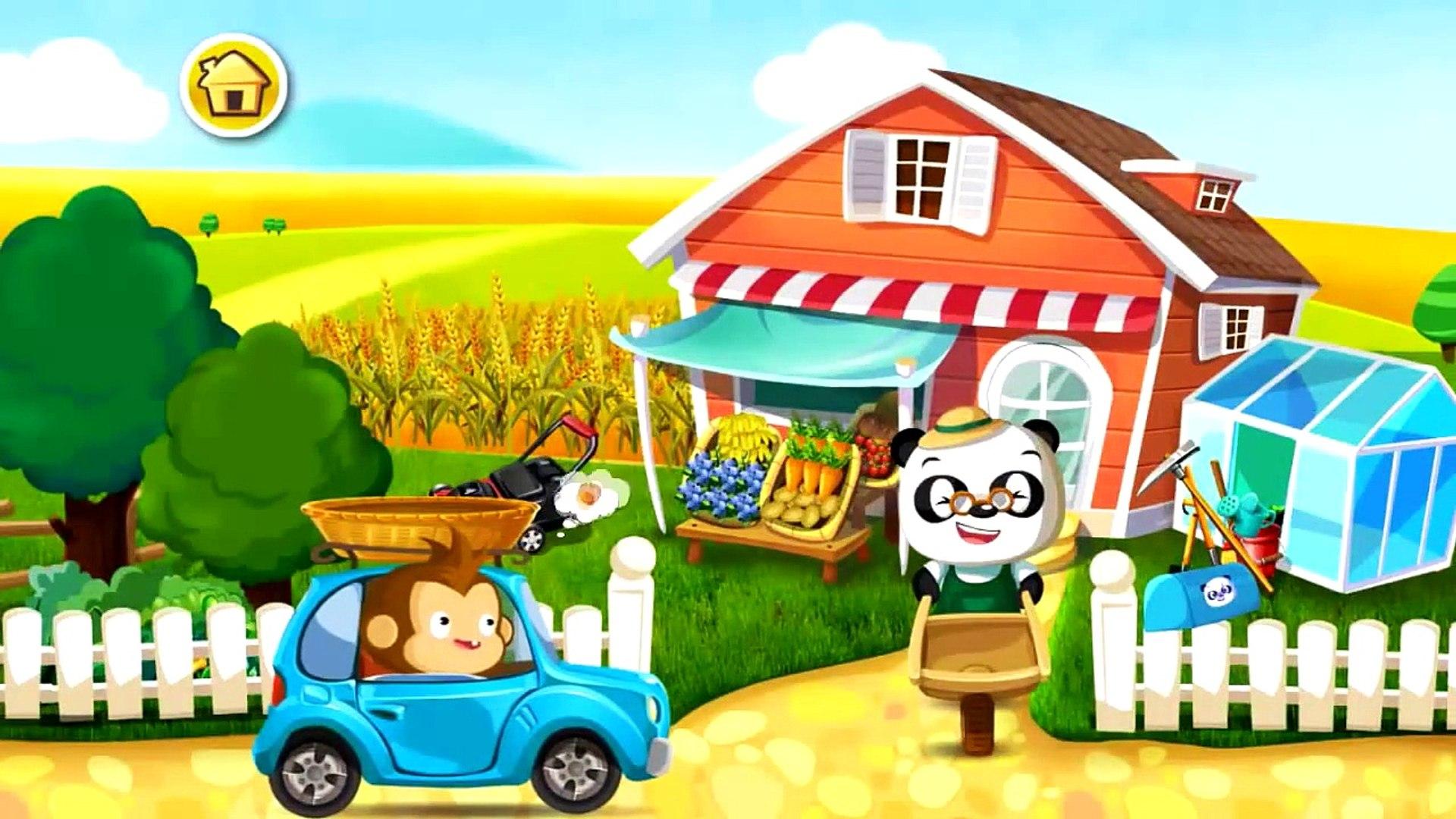 Сад доктора панды | овощи и фрукты | мультик игра детям # 1
