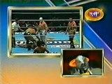 El Hijo Del Santo, Scorpio Jr and Bestia Salvaje vs El Dandy Negro Casas Hector Garza