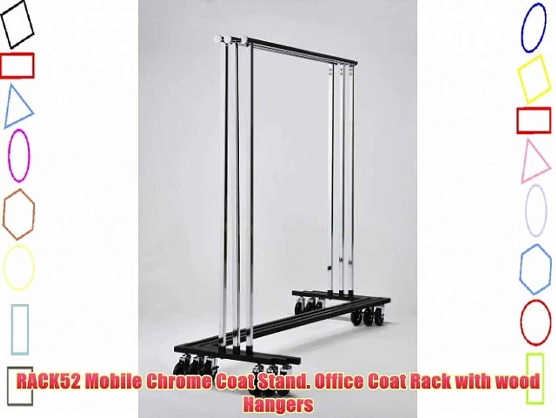 Chrome Coat Stand Office Rack