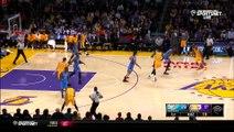 Kobe Bryant Passes To Roy Hibbert Between Kevin Durant's Legs
