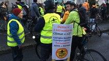 Départ des anti-aéroport pour manifester à Nantes
