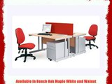 1200mm Cantilever Straight Desk - Length: 800 MM Width: 1200 MM Height: 725 MM Color: Beech