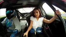 Female Reporter Scares of Car Ride
