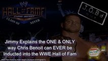 JOB'd Out - The ONLY way YOU'LL EVER see Chris Benoit in the WWE Hall of Fame (wrestling editorial)